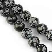 Snowflake obsidian sfere 10mm
