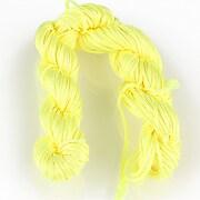 Ata nylon, grosime 1mm, aprox. 20-22m, galben lime