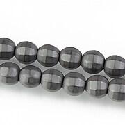 Hematit mat sfere fatetate 8mm
