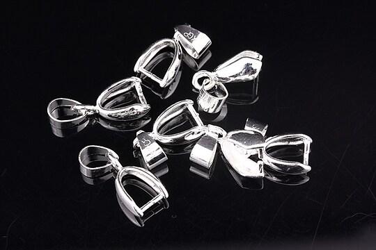 Agatatoare pandantiv argintie 20mm