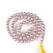 Sirag perle tip Mallorca sfere 6mm - roz balais