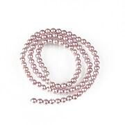 Sirag perle tip Mallorca sfere 4mm - roz balais