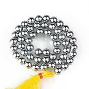 Sirag perle tip Mallorca sfere 8mm - argintiu