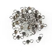 Link otel inoxidabil 304 pentru rhinestone de 2,5mm, 8x3mm