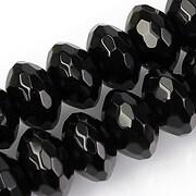 Onix rondele fatetate 9x15mm