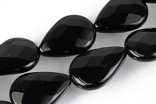 Onix lacrima fatetata 25x18mm