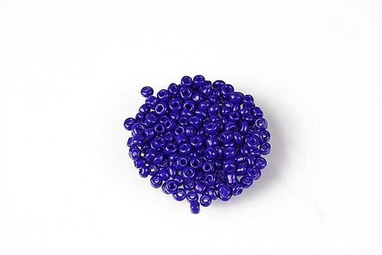 Margele de nisip 2mm (50g) - cod 622 - albastru cobalt opac
