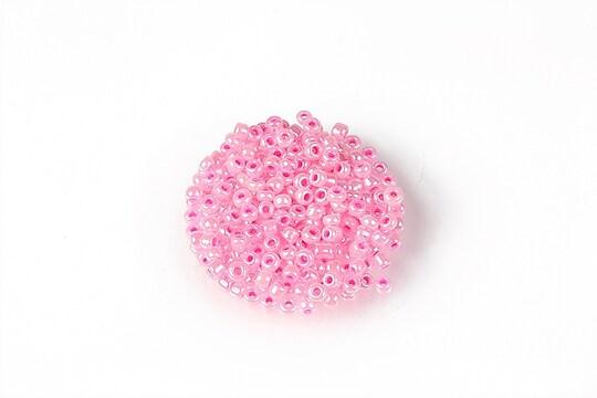 Margele de nisip 2mm (50g) - cod 631 - roz perlat