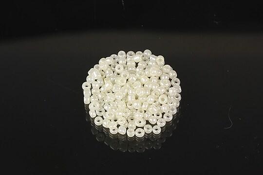 Margele de nisip 2mm (50g) - cod 653 - crem perlat