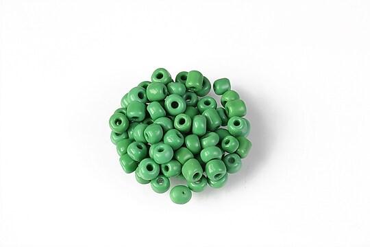 Margele de nisip 4mm  (50g) - cod 659 - verde opac