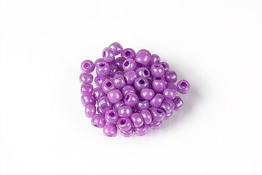 Margele de nisip 4mm  (50g) - cod 666 - mov lila perlat