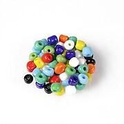Margele de nisip 4mm  (50g) - cod 687 - mix multicolor