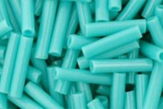 Margele Toho BUGLE 9mm - Opaque Turquoise
