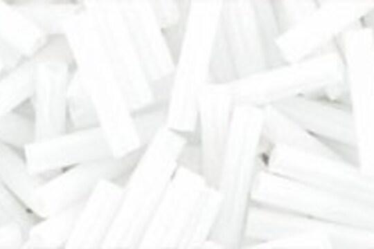 Margele Toho BUGLE 9mm - Opaque White