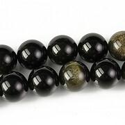 Golden obsidian sfere 10mm