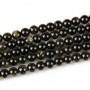 Golden obsidian sfere 4,5mm