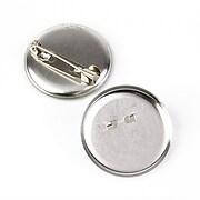 Baza brosa argintiu inchis cu platou 28mm