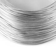 Sarma de modelaj aluminiu, grosime 1mm, 1 metru - argintiu