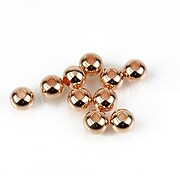 Distantiere margele otel inoxidabil 304 rose gold, sfere 6mm