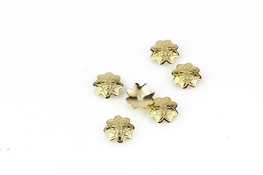 Capacele otel inoxidabil 304 auriu 7,5mm