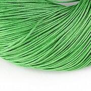Ata bumbac cerat grosime 1mm, legatura de 70m - verde