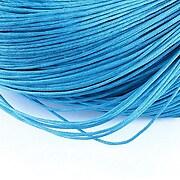Ata bumbac cerat grosime 1mm, legatura de 70m - albastru marin
