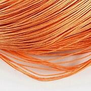 Ata bumbac cerat grosime 1mm, legatura de 70m - portocaliu