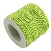 Rola ata bumbac cerat verde lime, grosime 1mm, rola de 80m