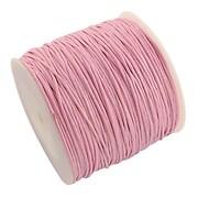 Rola ata bumbac cerat roz, grosime 1mm, rola de 80m