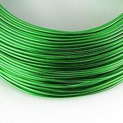 Sarma de modelaj aluminiu, grosime 1,5mm, 1 metru - verde