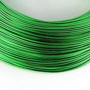 Sarma de modelaj aluminiu, grosime 1mm, 1 metru - verde