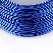 Sarma de modelaj aluminiu, grosime 1,5mm, 1 metru - albastru