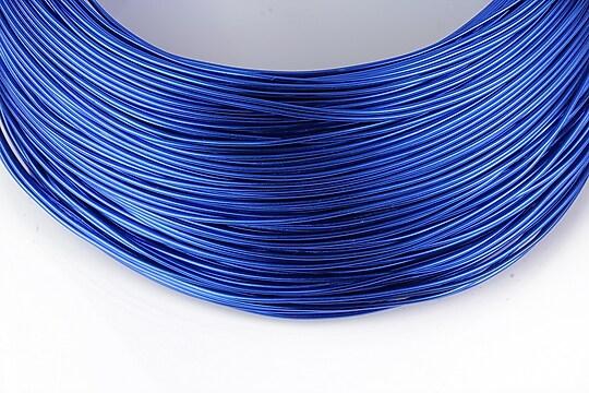 Sarma de modelaj aluminiu, grosime 1mm, 1 metru - albastru