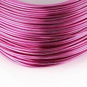 Sarma de modelaj aluminiu, grosime 1,5mm, 1 metru - roz
