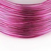 Sarma de modelaj aluminiu, grosime 1mm, 1 metru - roz