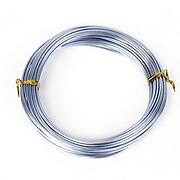 Sarma de modelaj aluminiu, grosime 1,5mm, pachet 10m - albastru deschis