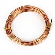 Sarma de modelaj aluminiu, grosime 1,5mm, pachet 10m - rose gold