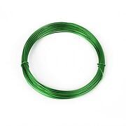 Sarma de modelaj aluminiu, grosime 0,8mm, pachet 10m - verde