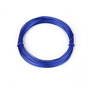 Sarma de modelaj aluminiu, grosime 0,8mm, pachet 10m - albastru safir