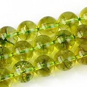 Cuart crystal sfere 10mm - verde