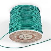 Snur Shamballa grosime 1mm, rola de 28m - verde smarald