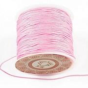 Snur Shamballa grosime 1mm, rola de 28m - roz