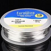 Rola sarma de modelaj aluminiu, grosime 1mm, 167 gr. - 78m
