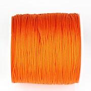 Snur nylon pentru bratari grosime 1mm, rola de 100m - portocaliu