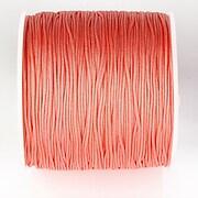 Snur nylon pentru bratari grosime 1mm, rola de 100m - somon