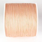 Snur nylon pentru bratari grosime 1mm, rola de 100m - somon pal