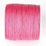 Snur nylon pentru bratari grosime 1mm, rola de 100m - roz corai