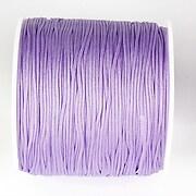 Snur nylon pentru bratari grosime 1mm, rola de 100m - mov liliac