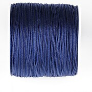 Snur nylon pentru bratari grosime 1mm, rola de 100m - albastru inchis