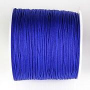 Snur nylon pentru bratari grosime 1mm, rola de 100m - albastru cobalt